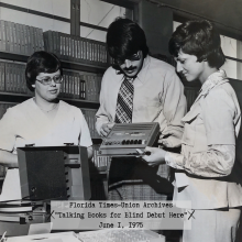 Times Union Archive Collection, Talking Books, Jacksonville Public Library