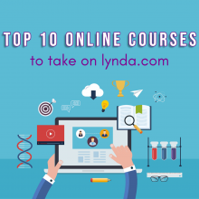top 10 online courses to take on lynda.com