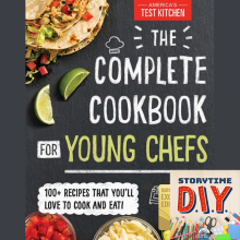 Complete Cookbook for Young Chefs Storytime DIY
